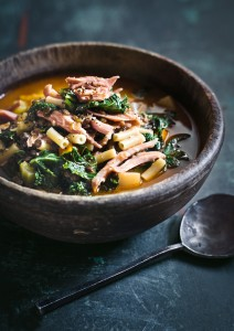 Ham Lentil and Kale Soup by Donna Hay