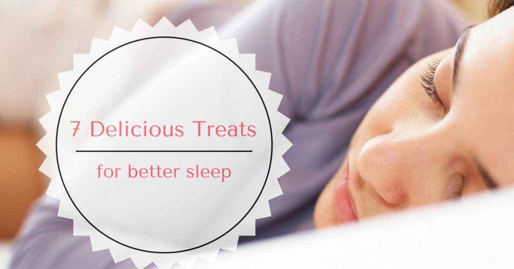 sweets treats for sleep