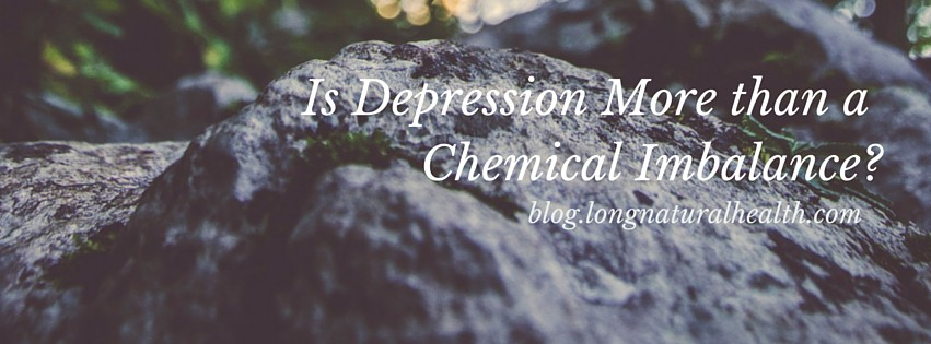 depression, chemical imbalance