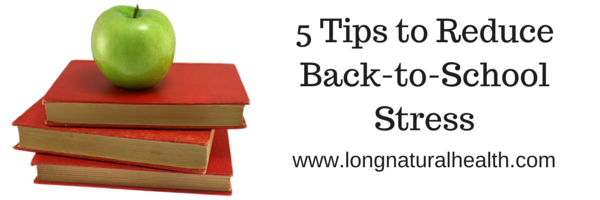 5 Tips to Reduce Back-to-School Stress