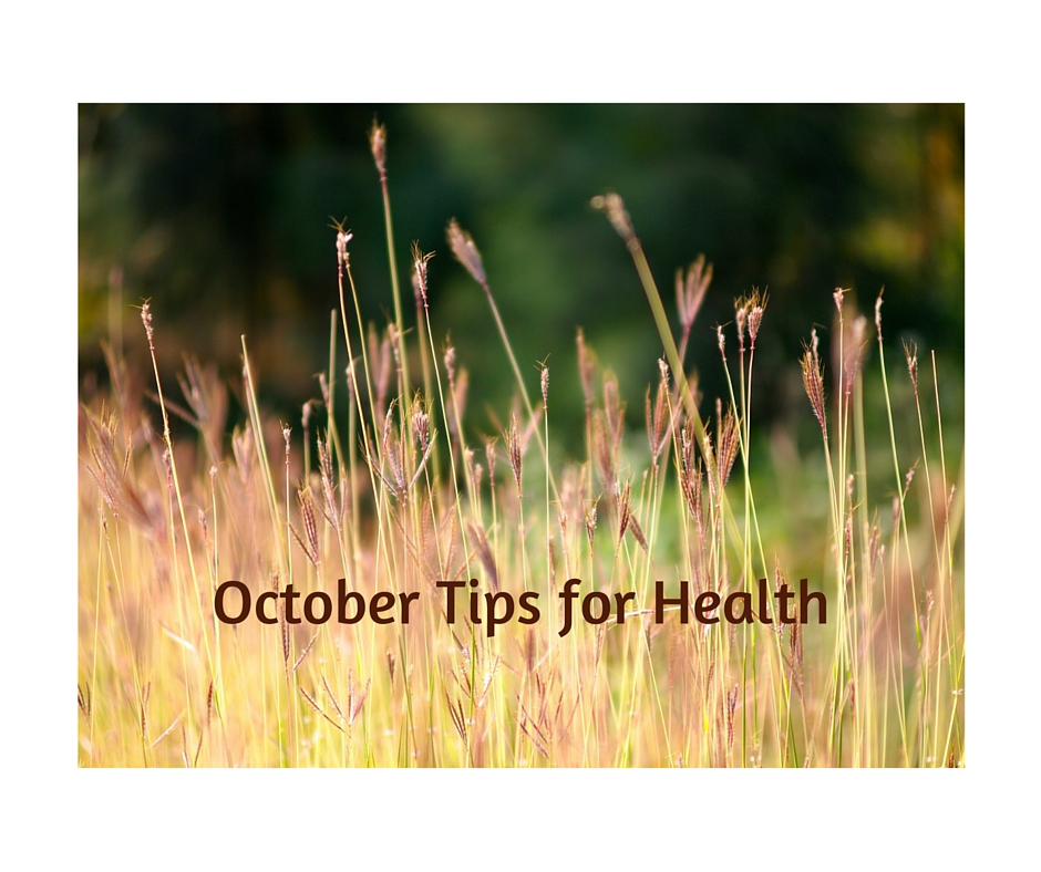 October Tips For Health