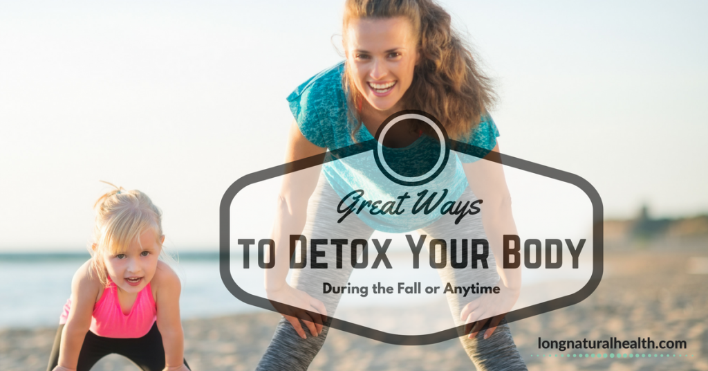 great ways to detox, mother and baby