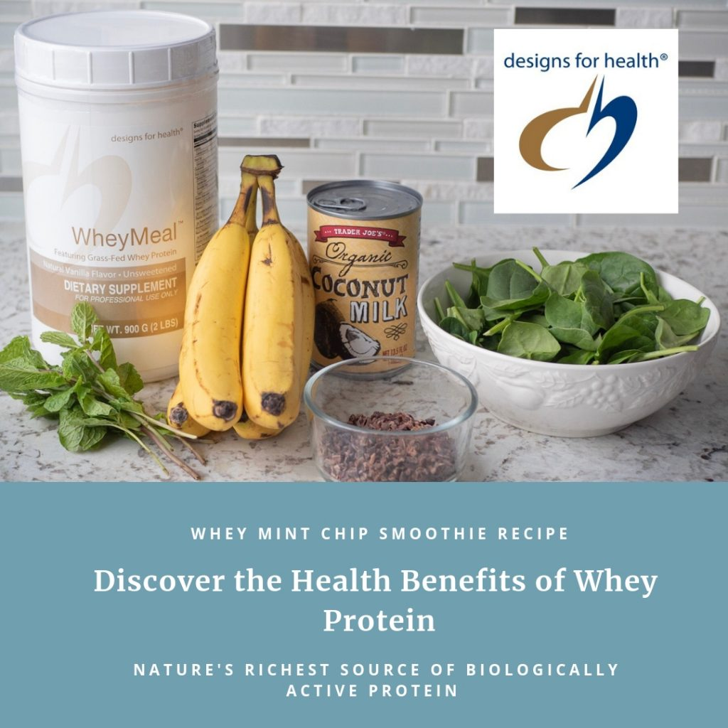 Designs for Health Whey Protein Smoothie
